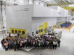 Audi inaugura Nave de Estampado en México