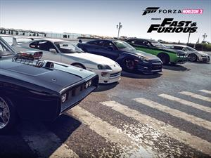 Si jugás al Forza Horizon 2, ya podés manejar 8 autos de Rápidos y Furiosos 7