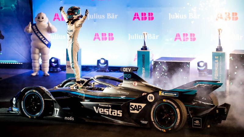 Mercedes-EQC gana la primera carrera de la Fórmula E 2021