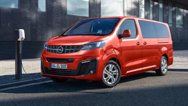 ¿Recuerdas a la Chevrolet Zafira? Ahora tendrá una versión eléctrica de la mano de Opel