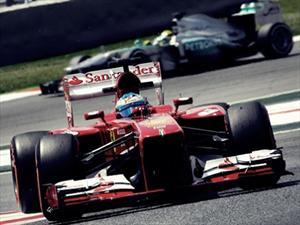 F1 GP de España, ganaron Alonso y Ferrari