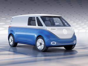 Volkswagen I.D. Buzz Cargo Concept es la versión comercial de la combi eléctrica