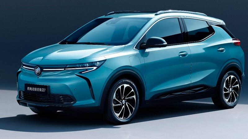 Buick Velite 7 2021, el primer SUV eléctrico de la marca