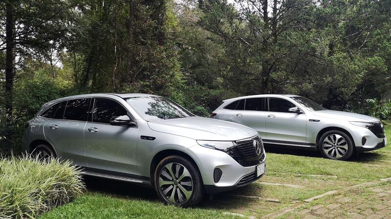 Primer contacto con el Mercedes-Benz EQC 2021