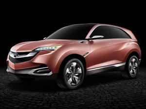 Acura SUV-X Concept debuta