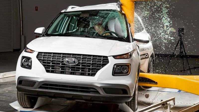 Hyundai Venue es reconocido por el nivel de seguridad que ofrece a sus pasajeros