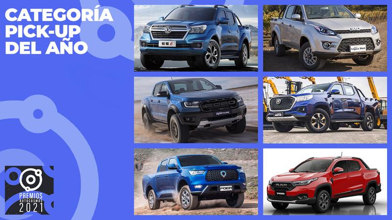 Premios Autocosmos: los candidatos a la camioneta de 2021