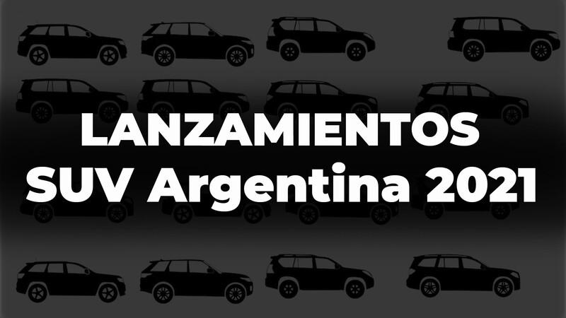 Los SUV que se lanzarán en Argentina durante 2021