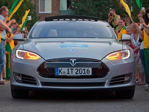 Michelin da la vuelta al mundo con un Tesla Model S