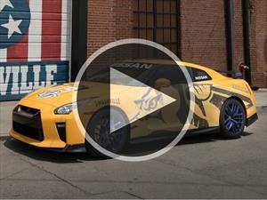 Video: Nissan subasta este GT-R especial con fines solidarios