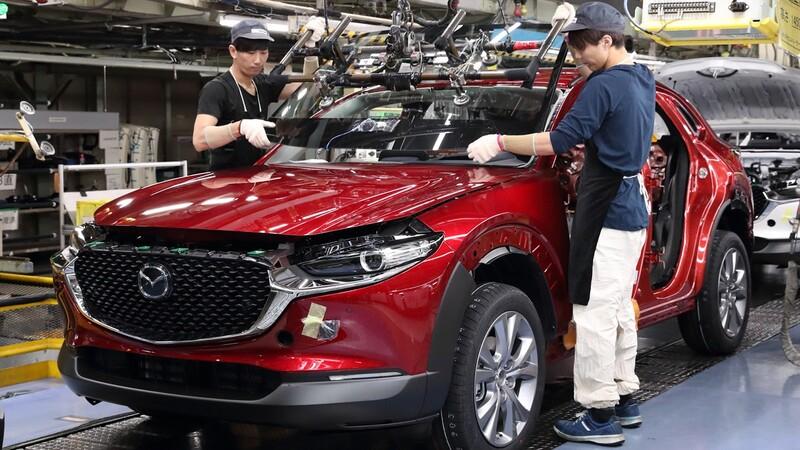 Mazda reanudará todos los turnos de producción en las plantas de Japón