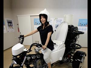 Toilet Bike Neo, una peculiar moto para no parar de andar