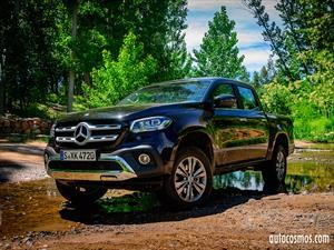 Primer contacto con la Mercedes-Benz Clase X 2019