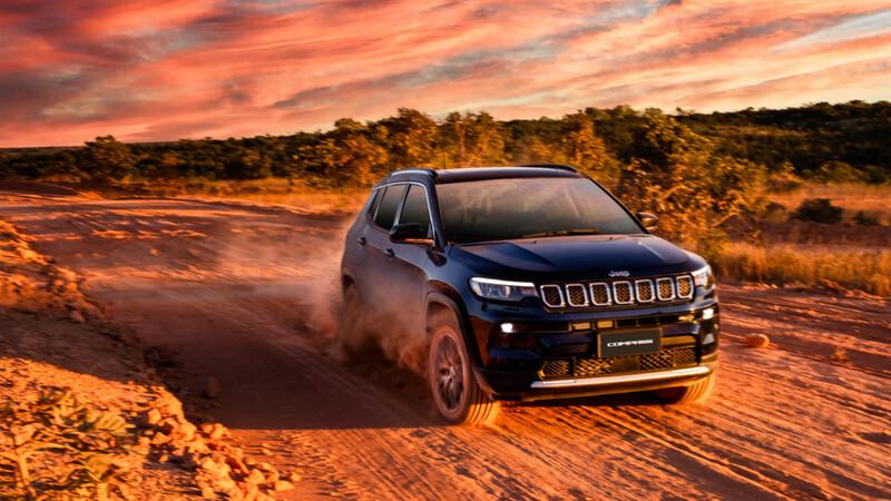Jeep Compass 2022 se lanza en Brasil ¿así será el modelo hecho en México?