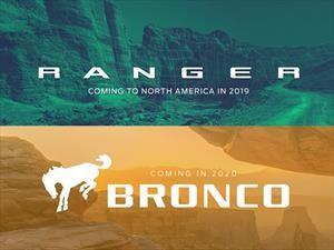 Ford confirma el regreso del Bronco y Ranger a Norteamérica