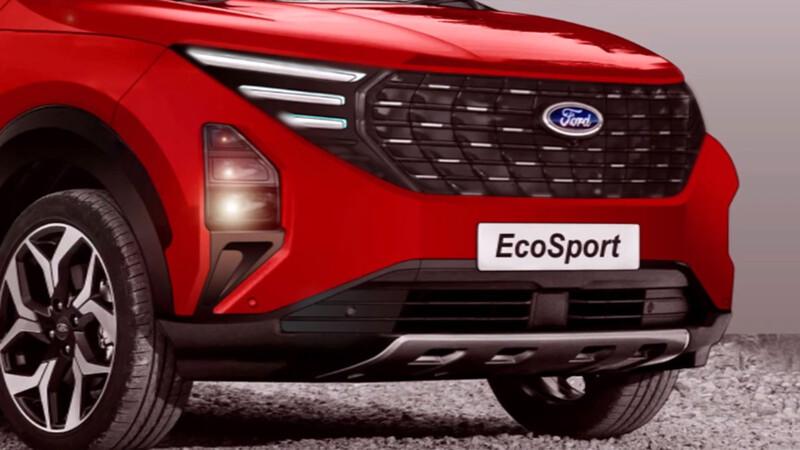 Nueva Ford Ecosport: ¿lucirá así?