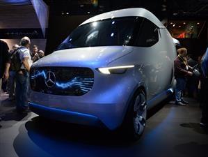 Mercedes-Benz Vision Van debuta en el CES 2017