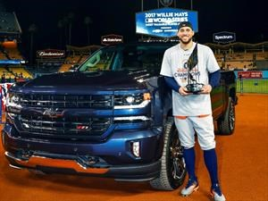 Chevrolet Silverado Centennial, para el MVP de la Serie Mundial 2017