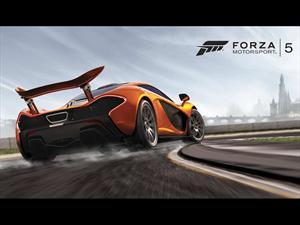 El McLaren P1 es la estrella del nuevo Forza 5