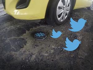 Crean dispositivo que manda un Tweet  cuando se pisa un bache