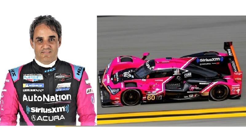 Juan Pablo Montoya compite hoy en las 12 Horas de Sebring