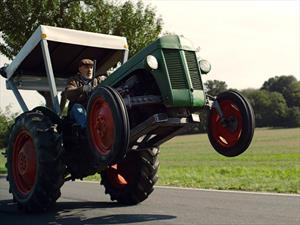 ¿Un tractor con más de 400 hp?