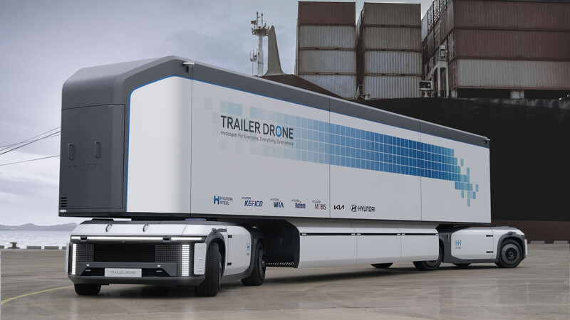 Grupo Hyundai apuesta todo al Hidrógeno, su visión incluye autos, camiones, trenes, etc.