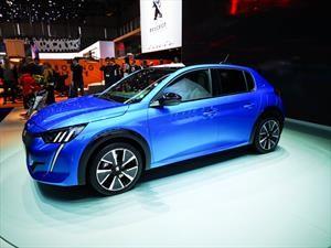 Peugeot 208 2020 llegará a Ginebra con alta tecnología y versión eléctrica
