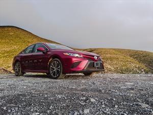 Primer contacto con el Toyota Camry 2018