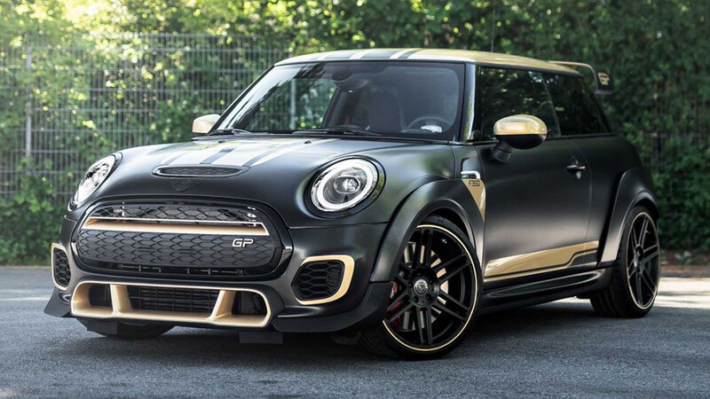 Manhart tunea al MINI John Cooper Works GP