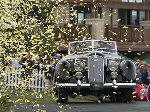 El mejor de Pebble Beach: Lancia Astura Pinin Farina Cabriolet 1936