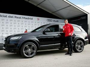 Jugadores del Real Madrid reciben vehículos de Audi