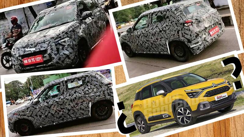 Citroën trabaja en un SUV por debajo del C3 Aircross