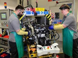 Sobresaliente planta de Jaguar Land Rover