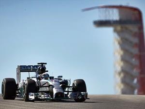 F1: Ganan Hamilton y Mercedes en Austin 2014