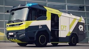 Rosenbauer Concept Fire Truck, el camión de bomberos del futuro