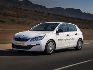 Peugeot 308 logra un consumo récord de 35 Km/l