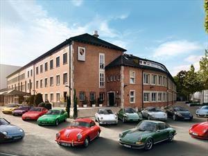 Carros clásicos de Porsche, tienen su propio sistema de seguridad