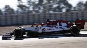 F1 2020: Kimi Räikkönen se impone en el segundo día de test en Barcelona