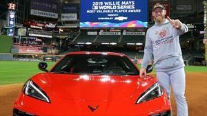 Jugador más valioso de la Serie Mundial de Béisbol 2019 recibe un Chevrolet Corvette