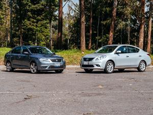 Comparativa: SEAT Toledo vs Nissan Versa