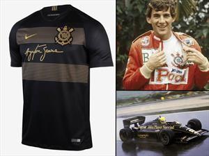 Senna y Lotus homenajeados en la nueva camiseta del Corinthians