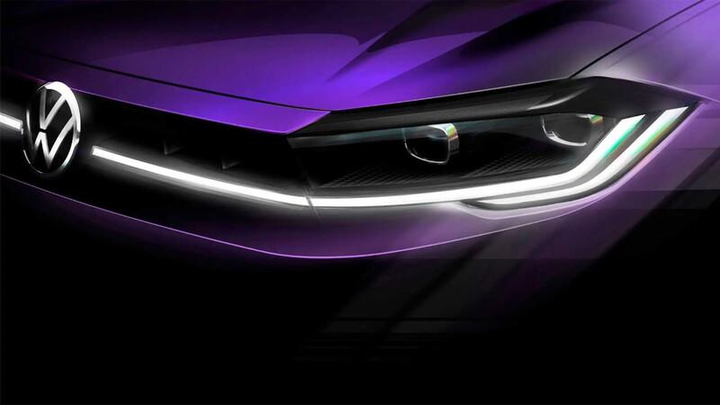 El nuevo Volkswagen Polo se ilumina con su primera imagen oficial