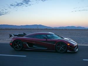 Koenigsegg Agera RS es el auto más rápido del mundo
