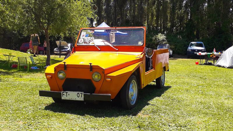 La historia del extraño Citroën Mehari chileno