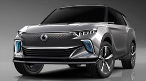 Korando E100 es el primer auto 100% eléctrico de SsangYong