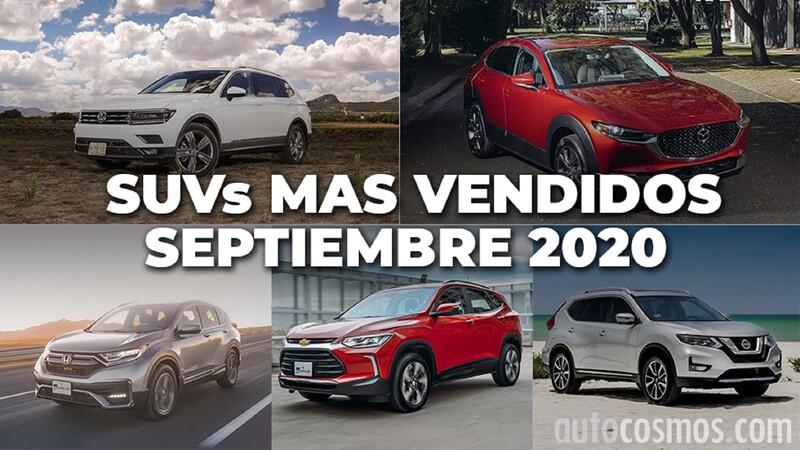 Los 10 SUVs más vendidos en septiembre 2020
