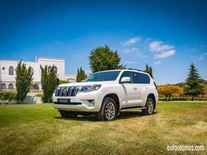 Toyota Land Cruiser Prado 2018 en Chile, la leyenda se actualiza