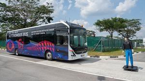 Volvo realiza las primeras pruebas en buses autónomos