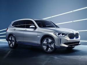 BMW Concept iX3 anticipa la llegada del X3 totalmente eléctrico